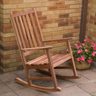 Richmond Heavy Duty Outdoor Rocking Chair with Optional Seat Cushion Multicolor