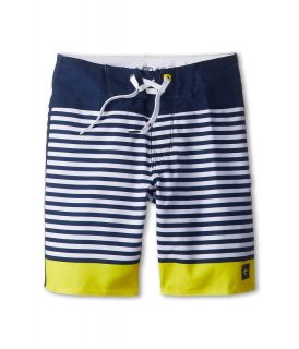 Rip Curl Kids Mirage Brash Stripe Boardshort Boys Swimwear (Yellow)