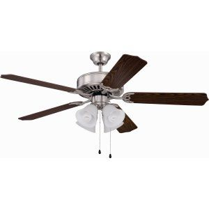 Ellington Fans ELF E203BNK Pro 203 52 Ceiling Fan Motor only with Integrated Li