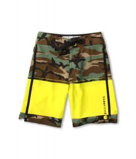 Billabong Kids Invert Boardshort Boys Swimwear (Yellow)