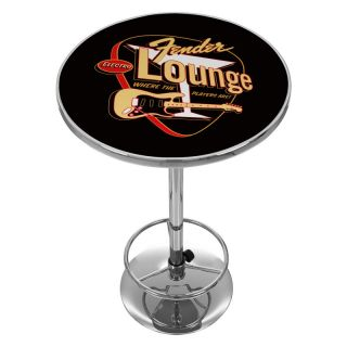 Trademark Global Fender Electro Lounge Pub Table Multicolor   FNDR2000 ELECTRO