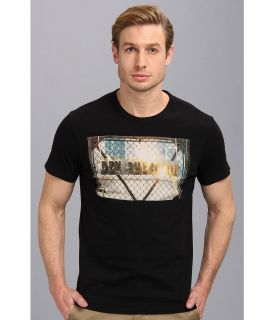 Ben Sherman Fire Logo Mens T Shirt (Black)