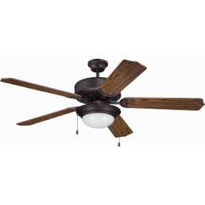 Ellington Fans ELF E209ABZ Pro 209 52 Ceiling Fan Motor only with Optional Ligh