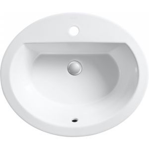 Kohler K 2699 1 0 Bryant Bryant® Oval Drop In Bathroom Sink with Single Faucet H