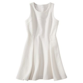 labworks Womens Ponte Sleeveless Dress   White M