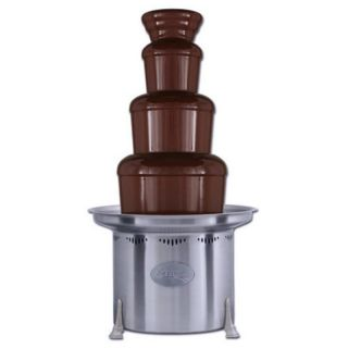 Sephra 34 Inch Stainless Steel Commercial Chocolate Fountain Multicolor   10171