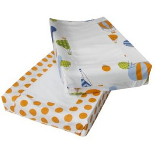 Hot Air Balloon 2pk Changing Pad Cover