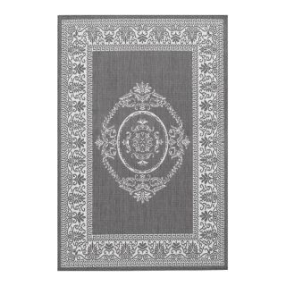 Couristan 1078 3012 Recife Grey Indoor/Outdoor Rug Multicolor   10783012023119U,