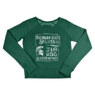 NCAA Kids Michigan State Fleece   Green (M)