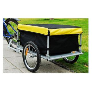 Aosom Elite Cargo Trailer Yellow Multicolor   5664 0005YM