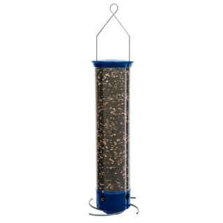Droll Yankee Whipper 21 in. 4 Port Squirrel Proof Bird Feeder Multicolor