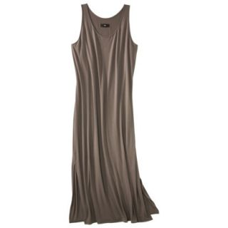 Mossimo Womens Plus Size Sleeveless V Neck Maxi Dress   Timber 2