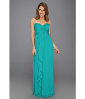 Nicole Miller Viscose GGT Strapless Gown Womens Dress (Blue)