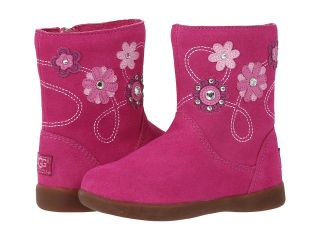 UGG Kids Flower Power Girls Shoes (Red)