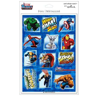 Super Hero Squad Foil Sticker Sheets